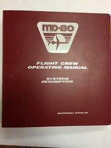 md 80 mcdonnell douglas flight crew operating manual systems rh ebay com