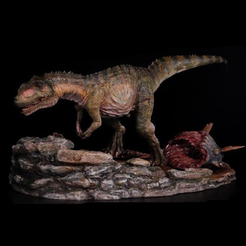 Yangchuanosaurus jagd statue dinosaurier - figur tiermodell spielzeug sammler dekor