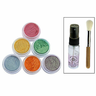 Cosmic Shimmer Mica Pigment Spray Set Shimmering Luxury