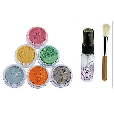 Cosmic Shimmer Mica Pigment Spray Set Shimmering Luxury