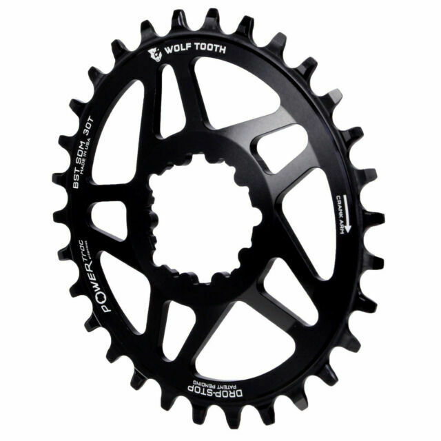 Wolf Tooth Powertrac Elliptical Direct Mount SRAM GXP Oval Boost Chainring 28t