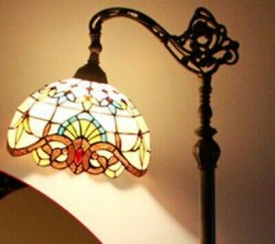 Tiffany Style Hanging Floor Lamp Gl
