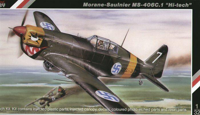 Special Hobby 1 32 Morane-Saulnier MS.406 C.1 'Hi Tech'