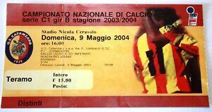 BIGLIETTO-CALCIO-TERAMO-CATANZARO-STAGIONE-2003-2004-DISTINTI