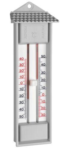 TFA Thermometer mit Drucktaste zur analogen Minimal-Maximal Temperaturanzeige