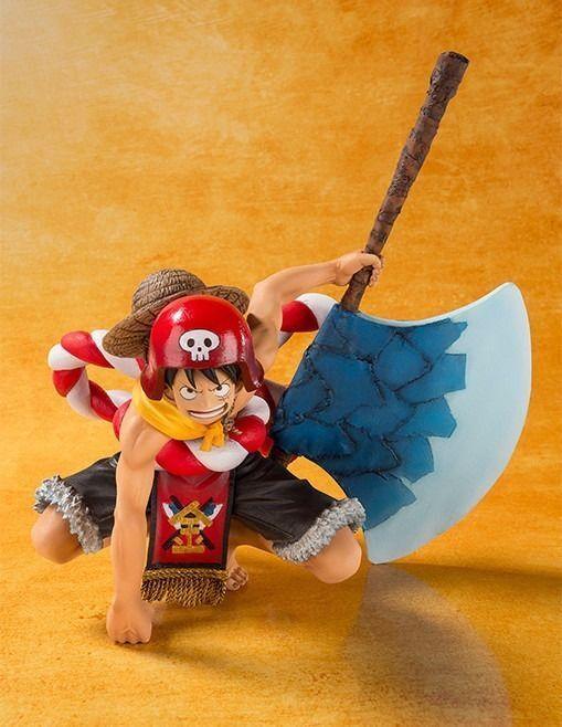 Figurines Art Zéro une Pièce Monkey Prof Luffy  Film Doré Ouverture Version PVC  vente discount en ligne