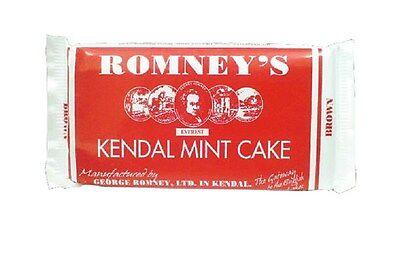 Briljant Romney's Kendal Mint Cake Brown 170g