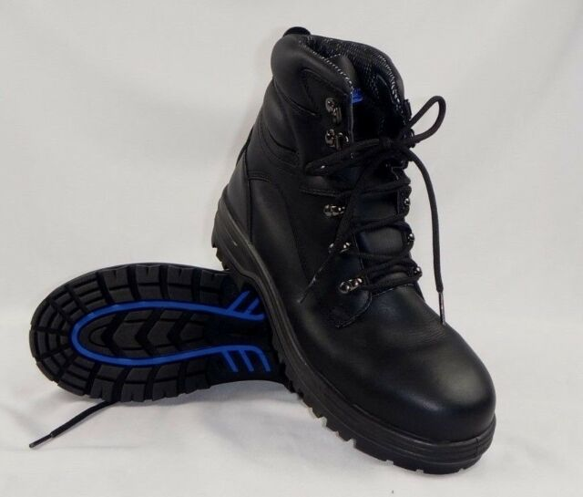 Blundstone Black Water Resistant Lace Up Safety Work Boot (142) size 10 US / 9UK