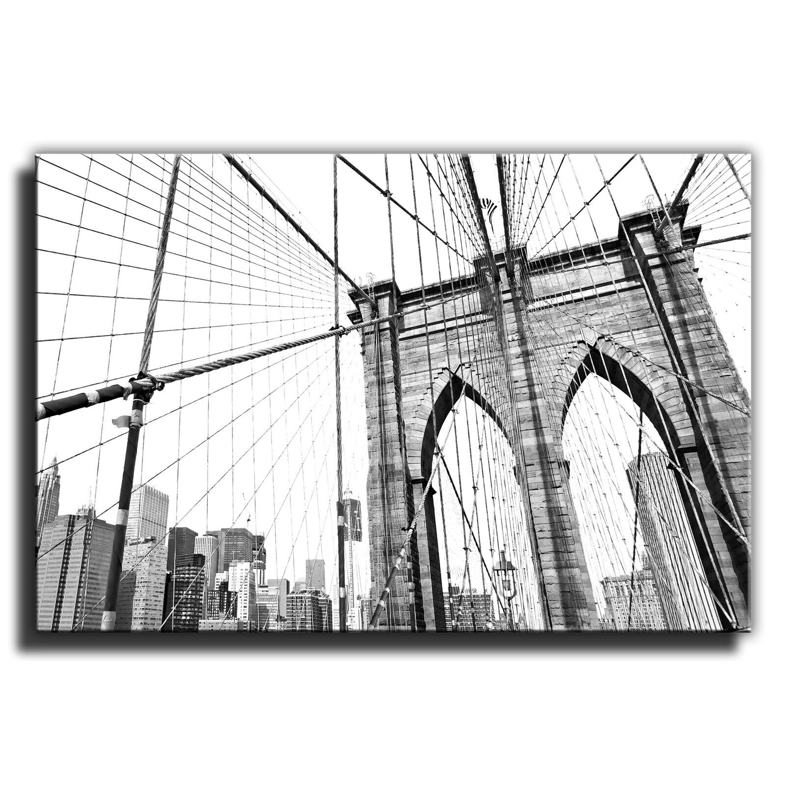 New york brooklyn pont paysage photo unique toile murale art photo paysage print 32 46b4aa
