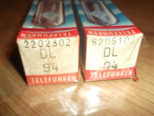 NOS Tubes 1x DL94 neu//ovp Telefunken