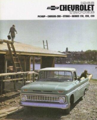 CHEVROLET 1963 Truck Sales Brochure 63 Chevy Pick Up | eBay