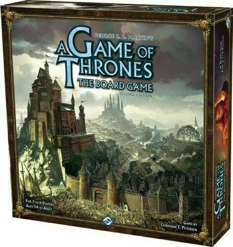 Fantasy Flight Games A Game Of Thrones Second Edition Board Game Va65 For Sale Online Ebay