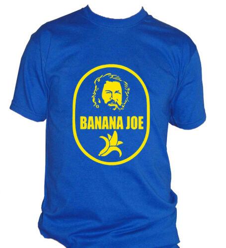 fm10 t-shirt maglietta uomo BANANA JOE Bud Spencer film idea regalo CINEMA/&TV