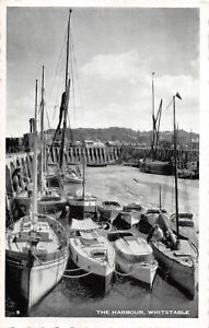 R286347 Whitstable. The Harbour. Postcard