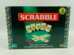 NEW-SEALED-Scrabble-Cards-3-ways-to-play-Tinderbox-Games-Mattel