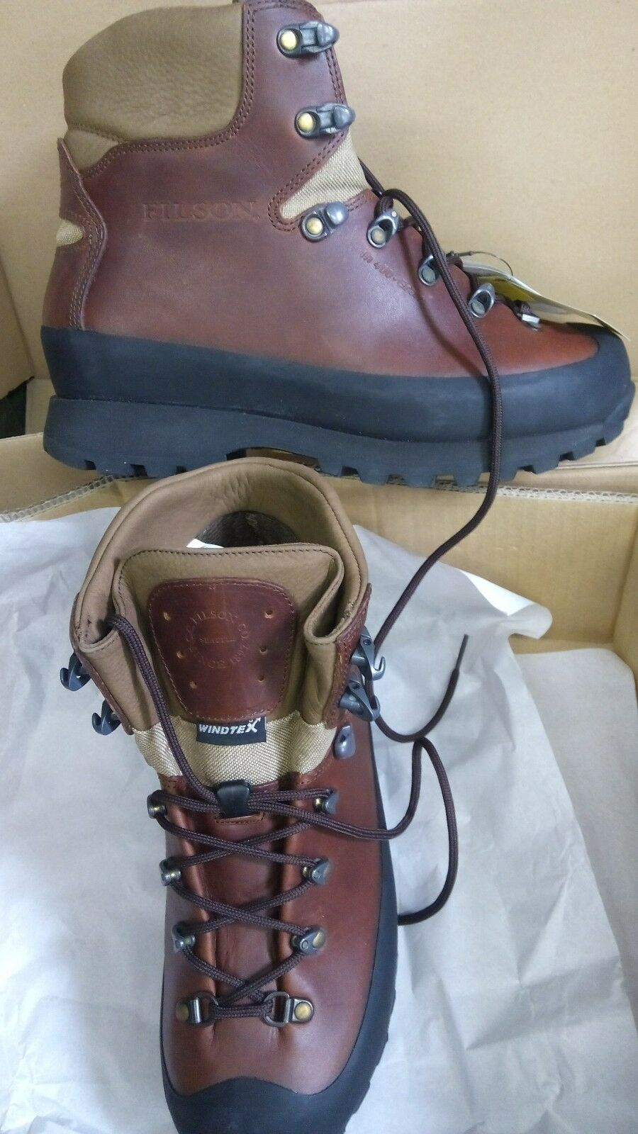 ANFIBI SCARPONI SCARPONCINI - FILSON - BOOTS BOOTS BOOTS  TG usa 9 Mountaineer boot 43 8908cf