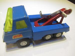 Professioneller Verkauf Rico Mini Sanson Abschleppwagen Blechspielzeug Alt Vintage Festsetzung Der Preise Nach ProduktqualitäT Blechspielzeug