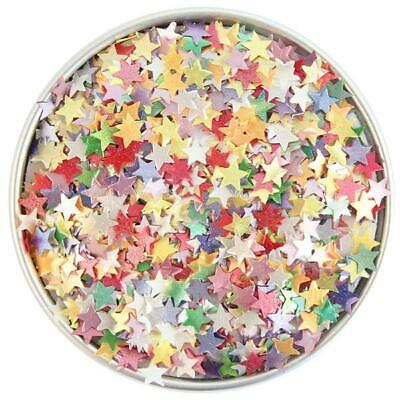 Blue Glitter Unicorn Natural Cake Decorations Edible Toppers Sugar Soy Free