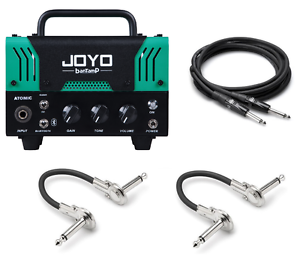 new joyo atomic bantamp 20 watt mini amp head 12ax7 tube ebay. Black Bedroom Furniture Sets. Home Design Ideas