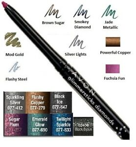 Avon-Eyeliner-Glimmerstick-Diamonds-Eye-Liner-Twist-up-Waterproof-NEW