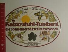 Aufkleber/Sticker: Kaiserstuhl Tuniberg Sonnenterrasse Deutschlands (141216158)