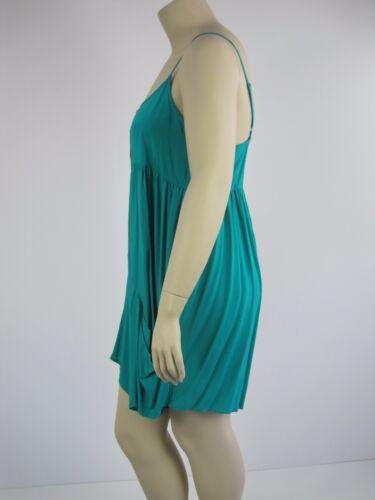 Crossroads Ladies Trapeze Zip Playsuit Jumpsuit sizes 12 14 16 18 20 22 Green