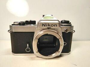Nikon-FE-35mm-SLR-Film-Camera-Body-Only-Made-in-Japan-getestet-working