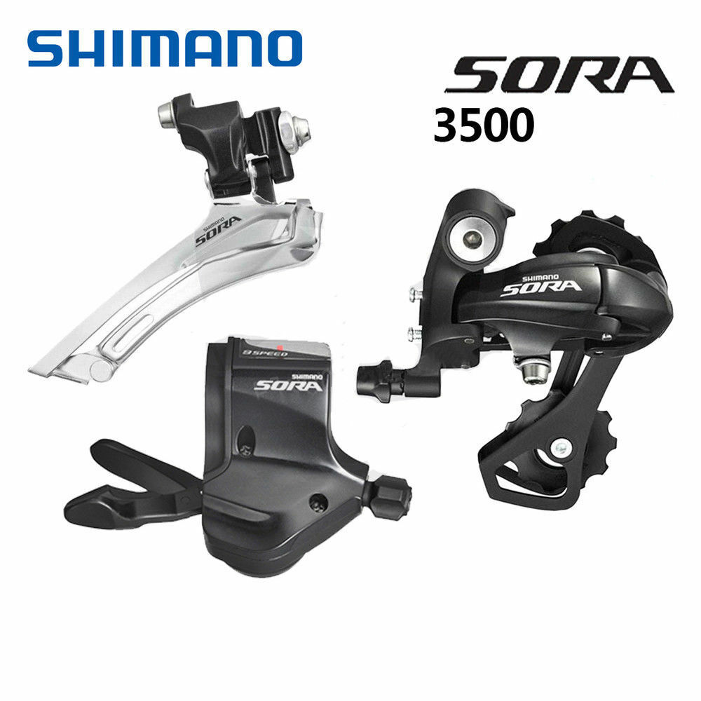 Shimano Sora 3500 Road Bike Groupset Group Set Bicycle Drivetrain Kits 29 Speed