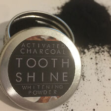 CarboCare Tooth Shine™ Organic Activated Charcoal Coconut Whitening Powder 10g