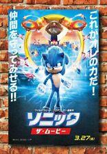 Art Sonic The Hedgehog Movie 2020 Poster Silk Custom Print Z772 Ebay