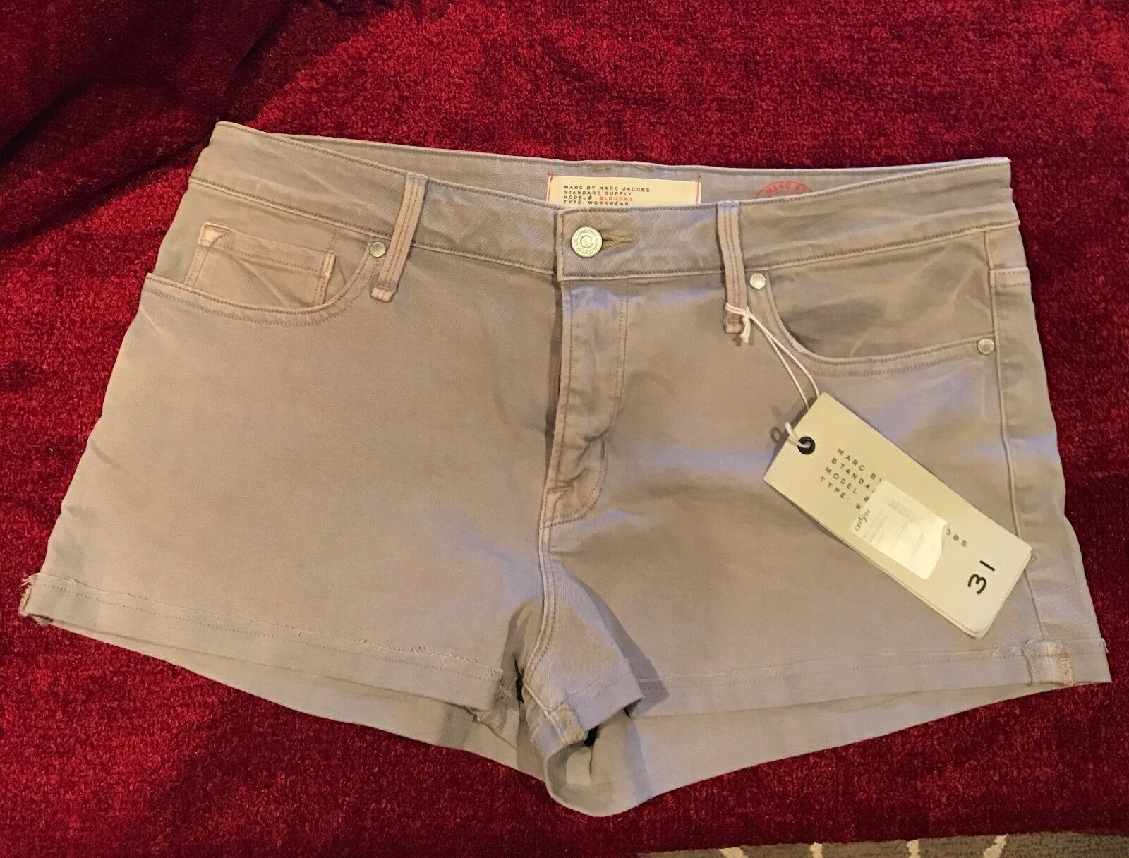 Marc by Marc Jacobs Pale Lavender Shorts - Size 31