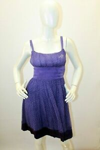 Vestito-LIU-JO-Taglia-44-Woman-LIU-JO-Seta-Silk-Dress-Abito-da-Sera-Elegante