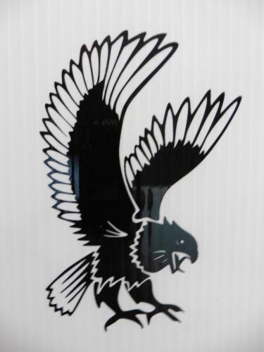 LARGE Eagle animal Nature fun stickers//car//van//bumper//window//decal  5265 Black
