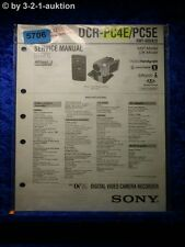 Sony Service Manual DCR PC4E /PC5E Level 1 Digital Camera (#5706)