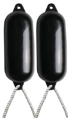- Size 4 Deflated Free Rope 2 X Majoni Black Boat Fenders
