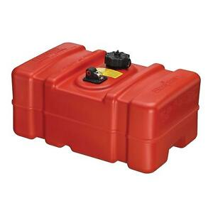 Marine Boat Fuel Tank Portable Gas Can 9 Gallon Storage Gasoline Low Container