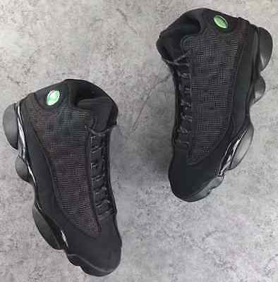 Nike Air Jordan XIII Retro 13 Black Cat Anthracite 3M 414571-011 AUTHENTIC  W  948b4d31b