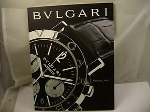 Other Watches Latest Collection Of Catálogo De Reloj Bvlgari 2000 Watches, Parts & Accessories