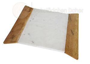 schneidebrett brett aus marmor und holz brettchen. Black Bedroom Furniture Sets. Home Design Ideas