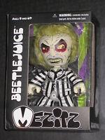 Beetlejuice Mez-itz Figure Mezco Cult Classic Rare Near Mint Michael Keaton