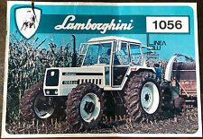 Lamborghini 1056, 1056DT Tractor Brochure.