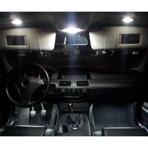 SMD LED Innenlicht Set Renault Megane CC Xenon Weiß
