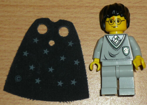 Lego Harry Potter mit Sternenumhang Wappen gün alte Version