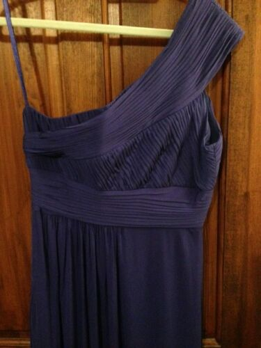 Blue One Rouched Nwot Vibrant Gown Coast Prom Evening Grecian Shoulder nzq77x1v