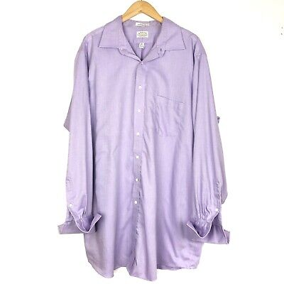 Eagle Shirtmakers Big/&Tall Non-Iron Dress Shirt French Cuff