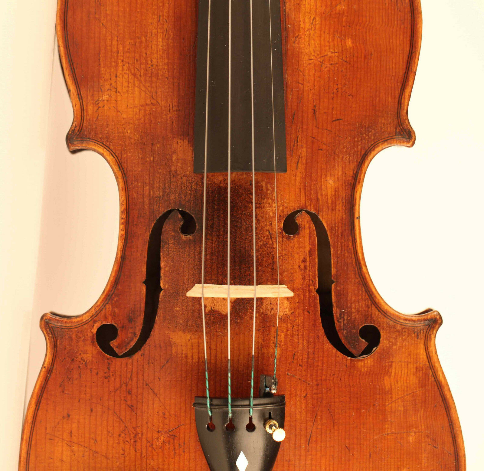 Vieja fino violín Rocca 1859 小提琴 ヴァイオリン ヴァイオリン ヴァイオリン old viola violin violonchelo violon Italian ac42b9