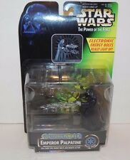 STAR WARS ~ EMPEROR PALPATINE ELECTRONIC POWER F/X FIGURE ~  NOC FREE SHIPPING!