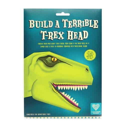Rex Dinosaur Head Clockwork Soldier Build A Wall Mounted Terrible T