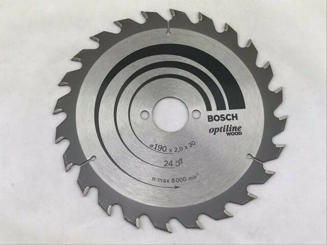 Kreissägeblatt Bosch Professional Optiline Wood 190x30x 2.0 mm 24 Zähne Werkzeug
