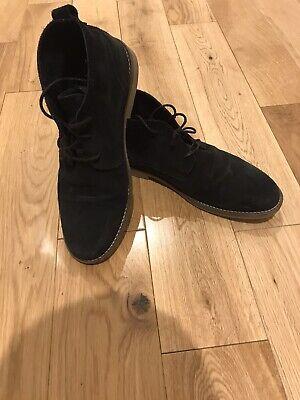 mens desert boots size 8 Black River